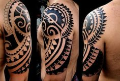 Maori Tattoo Designs And Meanings Tribal Arm Tattoos For Men, Polynesian Tribal Tattoos, Tribal Shoulder Tattoos, Tribal Sleeve Tattoos, Arm Tattoos For Guys, Maori Tattoos, Maori Tattoo Designs, Dragon Tattoo Designs, Tattoo Designs And Meanings