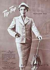 Werbung bilder 1950 ohne krawatte ist der mann die for Partydeko hamburg
