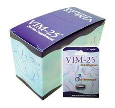 VIM-25 - 1 BOX = 24 CAPSULES #male #enhancers #sex #libido #viagra alt FREE #USA shipping 3-5 days