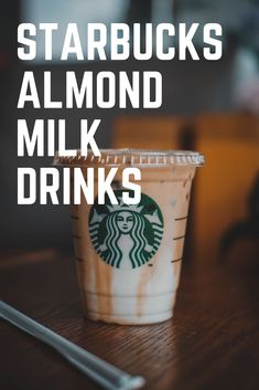 The good news is that Starbucks now offers a myriad of options of beverages that you can have with almond milk. Every fitness enthusiast and vegan is aware of the health benefits of this nut milk. Besides the fact that almond milk is plant-based and, it tastes incredibly good which can enhance the overall taste of your drinks too. It adds a nutty undertone as well as creamy texture to your Starbucks drinks. #coffee #almondmilk Coffee Cream, Coffee Type, Black Coffee, Types Of Coffee Beans, Different Types Of Coffee, Coffee Canister, Coffee Spoon, Acquired Taste, Coffee Accessories