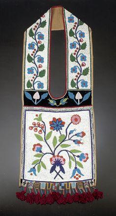 Chippewa Beaded Bandolier Bag