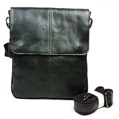 Men's Leather Shoulder Bag Casual Satchel Bag Retro Crossbody Messenger Bag Handbag -- Want to know more, click on the image. (This is an Amazon Affiliate link and I receive a commission for the sales)