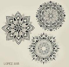 Mandalas tattoo ideas tatuagem mandala, tatuagem masculina и Geometric Mandala Tattoo, Mandala Tattoo Design, Mandala Dots, Tattoo Designs, Leg Tattoos, Arm Tattoo, Sleeve Tattoos, Flower Tattoos, Tattoo Hand