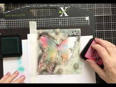 28 July 2020 Visible Image Stamps  and Stencil - YouTube Lavinia Stamps, Image Stamp, Silhouettes, Card Ideas, Stencils, Tutorials, Colors, Youtube, Cards