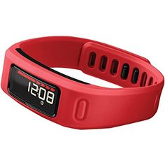 Garmin Vivofit with Heart Rate Monitor Bundle, Red