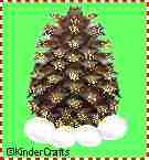 Pine Cone Christmas Tree - EnchantedLearning.com