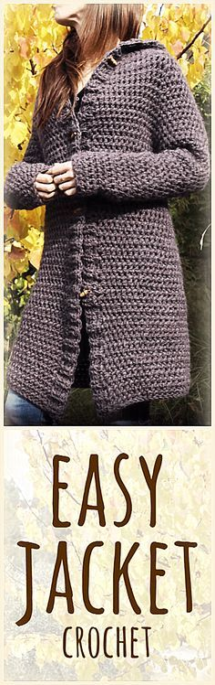 Easy Jacket or Coat Crochet