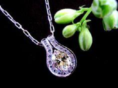 Platinum yellow diamond 1.5ct