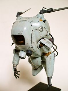 I have no idea where this is from, but I need to find out! Arte Steampunk, Hard Surface Modeling, Grand Art, Arte Robot, Retro Robot, Sci Fi Models, Modelos 3d, Robot Design, Maker