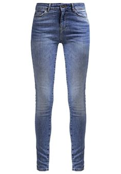 d3b2a37a VMSEVEN - Jeans Skinny Fit - medium blue denim - Zalando.co.uk ·  MellanlångtSmala JeansModeFitnessVero Moda