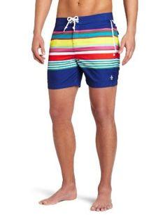 Original Penguin Men's Fix Volley Multi Swim Shorts, Mazarine Blue, 33 Original Penguin. $69.00