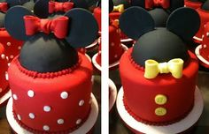 mickey/minnie cakes