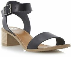 Bertie HOBART Block Heel Ankle Strap Sandal on shopstyle.co.uk