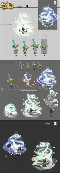 Xélor - Fiches d'intentions d'animation des sorts