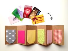 herzrot: Gift card wrapping for Christmas