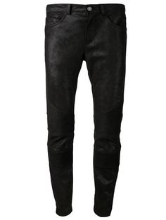 Opt for a new silhouette with the men's skinny pants edit at Farfetch. Shop designer skinny pants for men from leading luxury labels. Skinny Pants, Skinny Fit, Shops, Leather Trousers, Black Jeans, Boutiques, Designers, Men, Shopping