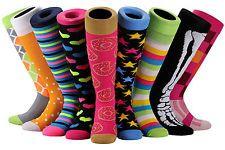 Funky up to the Knee socks!  www.socksforafrica.co.za #socksforafrica #sil #thesockilove #funky #uptotheknee