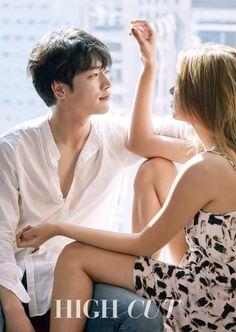 5urprise's Seo Kang Joon & Lee Ho Jeong for High Cut Korea Vol. 161. Photographed by Choi Moon Hyuk