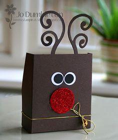 Rudolph favor boxes