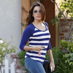 Eva Longoria was seen exiting Ken Paves Salon, her go-to beauty stop in West Hollywood