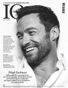 """Hugh Jackman a """"Io Donna"""": """"Sono un filosofo ma mia moglie mi vuole vestito da broker"""""""