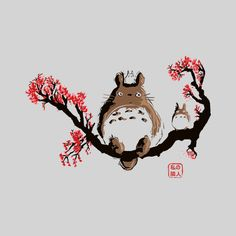 Totoro by Theduc Simple and cute :)