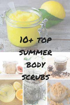 10+ top summer body scrubs