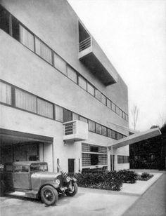 functionmag:  Villa Stein-De Monzie Le Corbusier, 1927