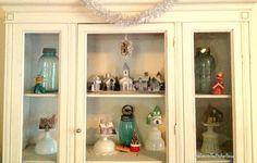 milk glass decorations holiday | Pin it Like 1 Image