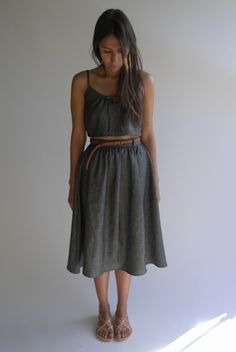 The Summer Uniform- Chambray  by Thread & Crescent $130