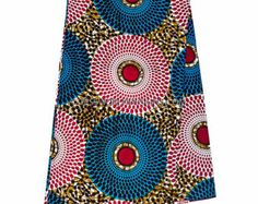 Wholesale Blue Ankara Fabric/ Ankara clothing by TessWorldDesigns