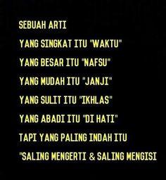 Quotes Sahabat, Quotes Lucu, Cinta Quotes, Allah Quotes, Text Quotes, Words Quotes, Funny Quotes, Life Quotes, Kurt Cobain Quotes