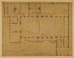 Floor plans - King's Theatre Regency, Spy, Theatre, Opera, Floor Plans, England, How To Plan, Blue, Opera House