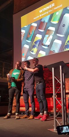 North wins Best Branding & Design - North Brewing Co Design Agency, Branding Design, Brick Lane, Can Design, Brewing Co, Poster On, Optical Illusions, Visual Identity, Brewery