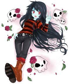 Marceline by Boslass.deviantart.com on @deviantART