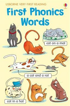First Phonics Words - Usborne Very First Reading
