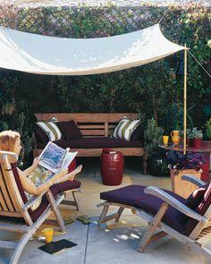 Creative Outdoor Spaces. Diy CanopyShade ...
