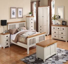 Oak Bedroom Furniture Sets UK – Silkwoodfurnishings - Interested in buying Oak Bedroom Furniture than contact us now and we will be happy to oblige. Oak Bedroom Furniture Sets, Home Decor Bedroom, Bedroom Ideas, Furniture Vintage, Furniture Stores, Bed Frame With Mattress, Upholstered Bed Frame, Country Bedroom Design, Single Bedroom