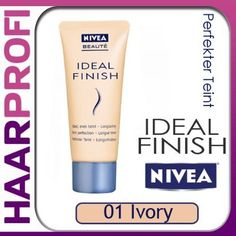 Nivea Ideal Finish 01 IVORY Make-UP Foundation 30ml: Amazon.de: Parfümerie & Kosmetik