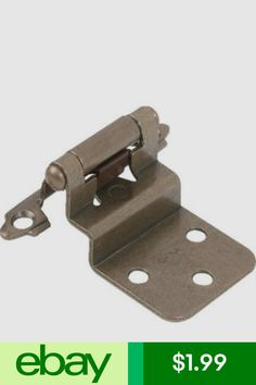 exposed cabinet hinges dark cabinets cabinet hardware home garden ebay products pinterest