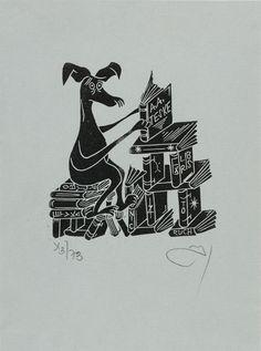 Zbigniew Jozwik, Art-exlibris.net   #exlibris #bookplate