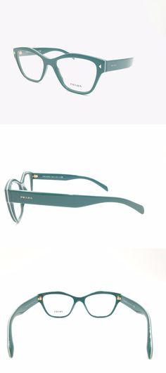 145c7427d37ee Fashion Eyewear Clear Glasses 179248   360 Prada Women Green Eyeglasses  Framed Glasses Optical Lenses Bifocal Italy -  BUY IT NOW ONLY   89.95 on  eBay!