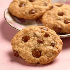 Milk+Chocolate+Oatmeal+Cookies