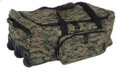 Air Force Digital Camo Deployment/Container Bag with Tri-Wheel Force Digital Deployment Container Tri Wheel is rated above 4 stars and stays in the top selling products in Luggage category in USA. Click below to see its Availability and Price in YOUR country.