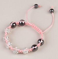 Girlie Shamballa Bracelet