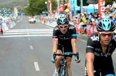 TDU Stage 3 Photos - Thomas (Sky) crossed the line with the main group