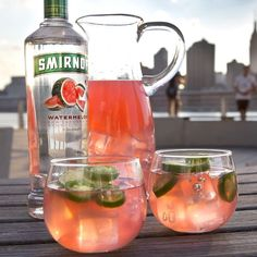 JONAS JALAPEÑO. Remember those warm summer days when we weren't under a foot of snow and subject to gale force winds? Us too. Bring some of the heat back with the #Jonas Jalapeno. #Blizzard2016 Just mix 1.5oz Smirnoff Watermelon, 3oz Pink Lemonade, Add A Splash of Lime Juice, and some Jalapeno Slices for garnish. #DiageoRep #Smirnoff #DeepEllum #DowntownDallas #Dallas #Texas #DTX #NTX #UptownDallas #Vodka #Friends #HappyHour #Cocktail #Cocktails #Bar #Bartender #Weekend #FtWorth #FortWorth…