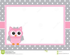 Baby Girl Owl, Owl Invitations, Owl Classroom, Minimalist Baby, School Labels, Owl Card, Paper Owls, Silhouette Cameo Projects, Cute Cartoon Wallpapers
