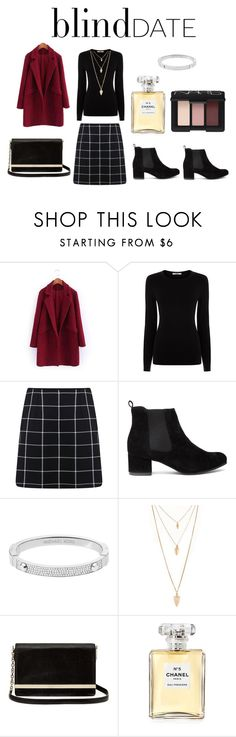 """Black and Dark Red Spark"" by sidneyscar ❤ liked on Polyvore featuring Oasis, Miss Selfridge, Michael Kors, Forever 21, Diane Von Furstenberg, Chanel, NARS Cosmetics, women's clothing, women and female"