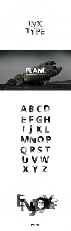 Ink Type Brush Font is a creative and beautiful brush font. It contains all caps characters only. It's great for logos, weddings, invitations, quotes, etc. Creative Logo, Ink Logo, Portfolio Book, Logo Type, Typography Layout, Brush Font, Illustrator Tutorials, Typography Inspiration, Cool Fonts